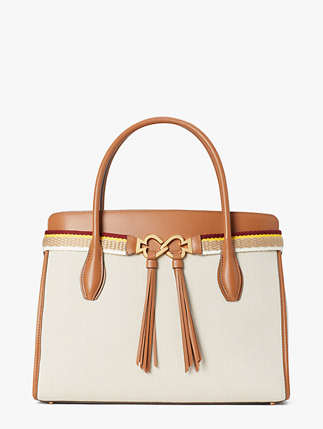 toujours canvas large satchel by kate spade new york