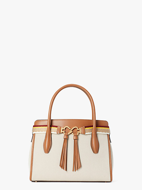 toujours canvas medium satchel by kate spade new york