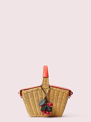 picnic 3d wicker picnic basket by kate spade new york non-hover view