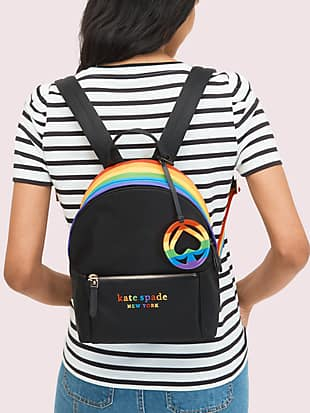 rainbow backpack by kate spade new york hover view