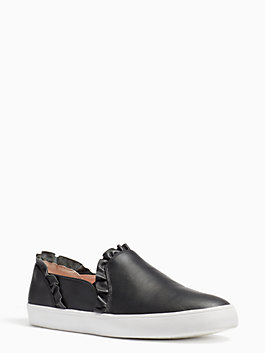 lilly sneakers, black, medium