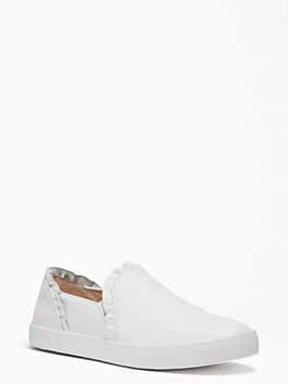 lilly sneakers, white, medium