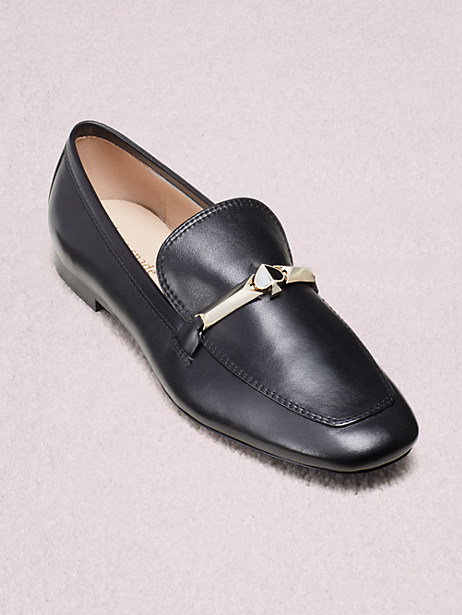 lana flats, black, large by kate spade new york