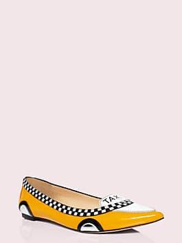 go taxi flats, taxi yellow, medium