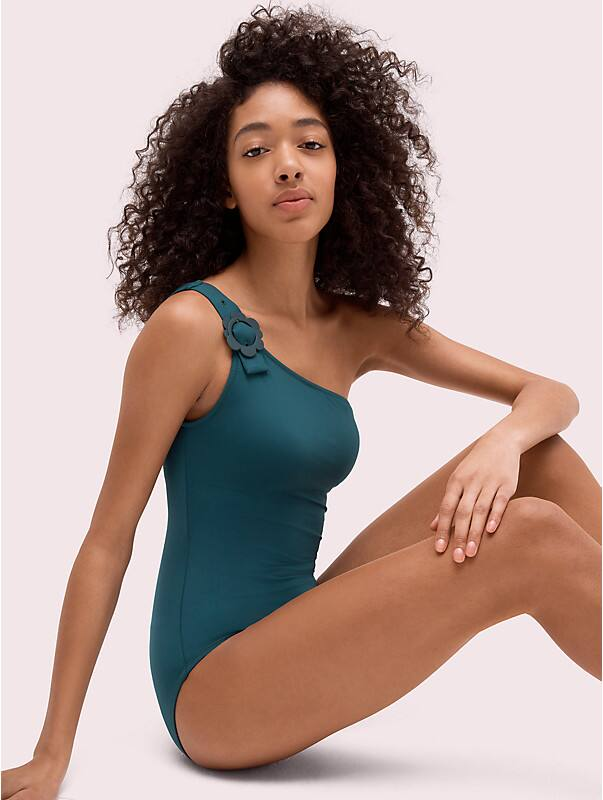 daisy buckle one-shoulder one-piece, , rr_large