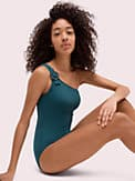 daisy buckle one-shoulder one-piece, , s7productThumbnail