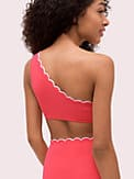 scallop wave one-shoulder bikini top, , s7productThumbnail