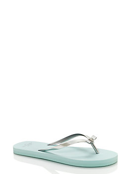 happily ever after sandals, silver/light blue, medium