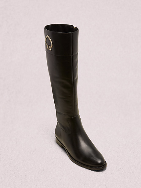 vinna boots, black, large by kate spade new york