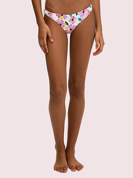 floral classic bikini bottom by kate spade new york