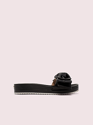 zorie slide sandals by kate spade new york non-hover view