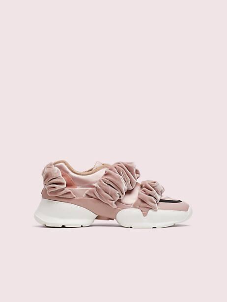 Scrunchie sneakers   Kate Spade New York