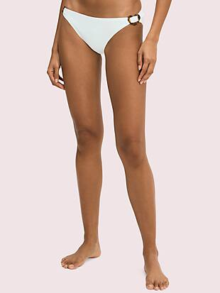 heart-buckle classic bikini bottom by kate spade new york non-hover view