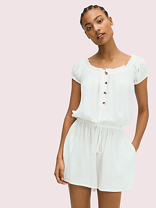 cover-up romper by kate spade new york non-hover view