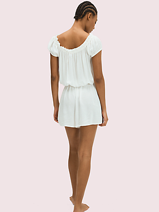 cover-up romper by kate spade new york hover view