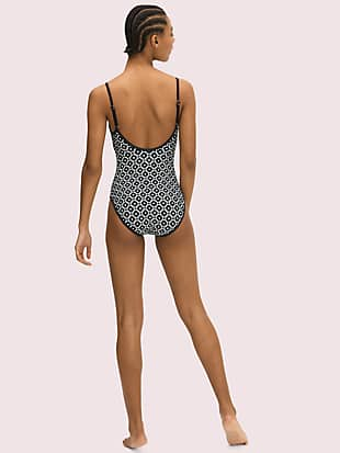 moonspade classic one-piece by kate spade new york hover view