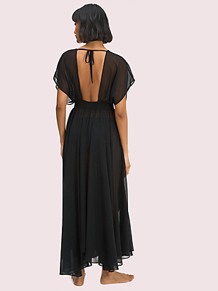 palm beach cover-up dress by kate spade new york hover view