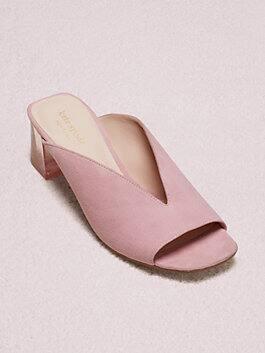 caila mules, rococo pink, medium