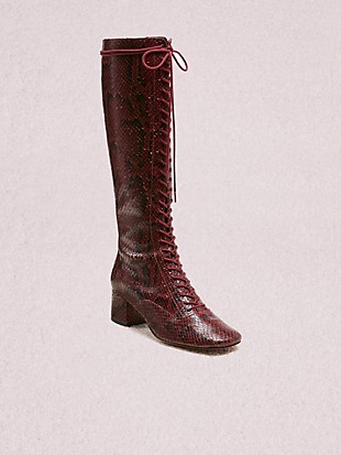lake lace-up boots by kate spade new york non-hover view