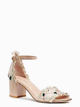 wayne heels, pink sand, medium