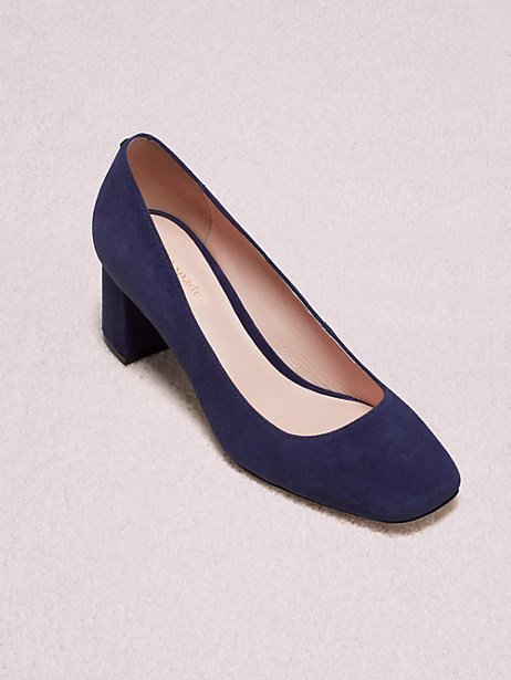 kylah pumps, navy, large by kate spade new york