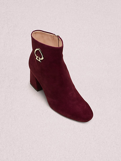 alihandra boots, cherrywood, large by kate spade new york