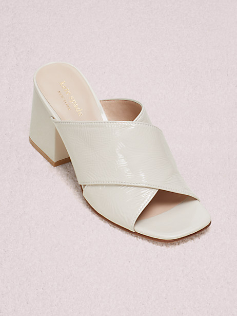 venus sandals, bone, large by kate spade new york