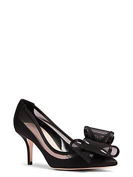 jackie heels, black, medium