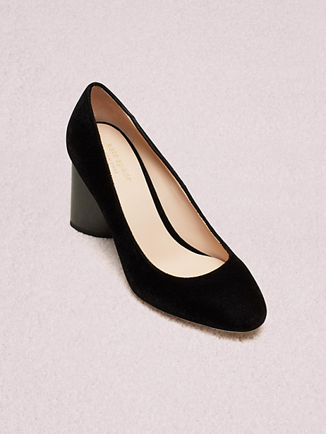sybil pumps, black, large by kate spade new york