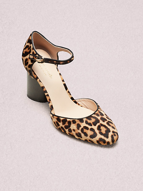 serene pumps, natural leopard, large by kate spade new york
