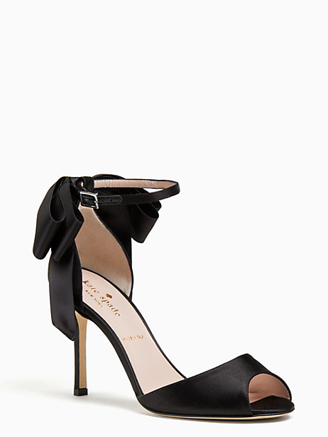 ilise heels, black, large by kate spade new york