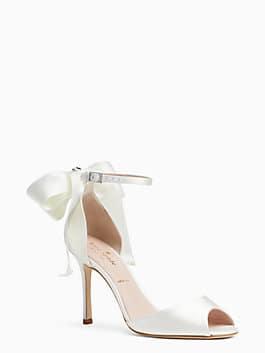 ilise heels, ivory, medium