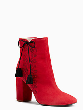 georgette boots, charm red, medium