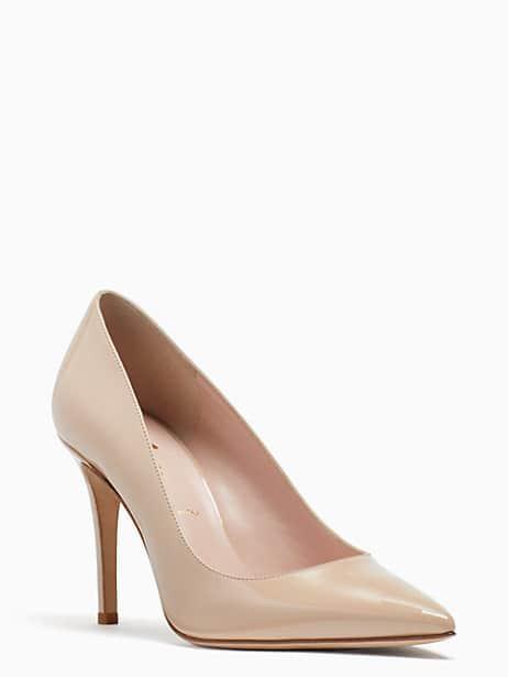 vivian heels, powder, large by kate spade new york