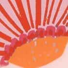 ROSE GOLD/ORANGE/PINK (FLORAL PRINT)