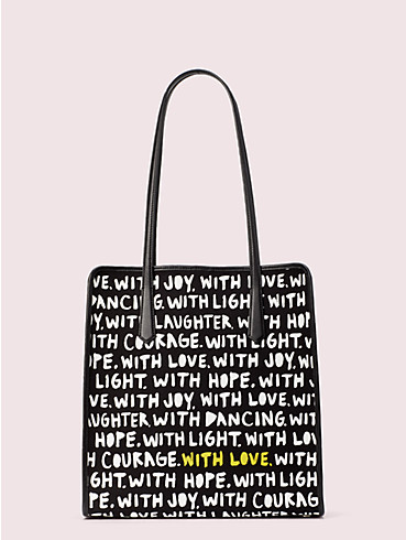 cleo wade x kate spade new york phrases tote, , rr_productgrid