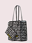 cleo wade x kate spade new york phrases tote, , s7productThumbnail