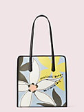 cleo wade x kate spade new york floral tote, , s7productThumbnail
