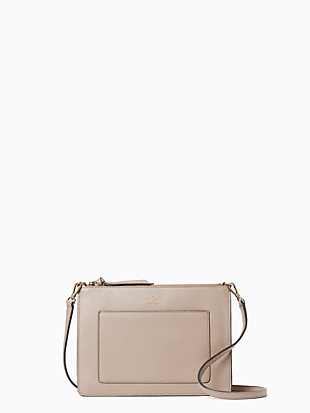 케이트 스페이드 Kate Spade on purpose crossbody,WARM BEIGE