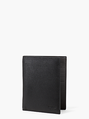 pebbled leather travel wallet by kate spade new york non-hover view