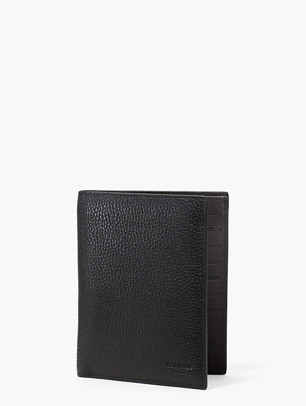 pebbled leather travel wallet, , rr_large