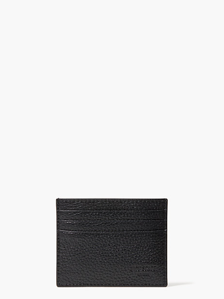 pebbled leather six card holder by kate spade new york