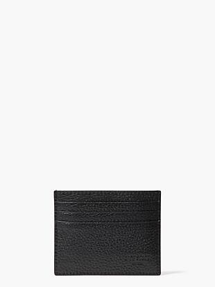 pebbled leather six card holder by kate spade new york non-hover view
