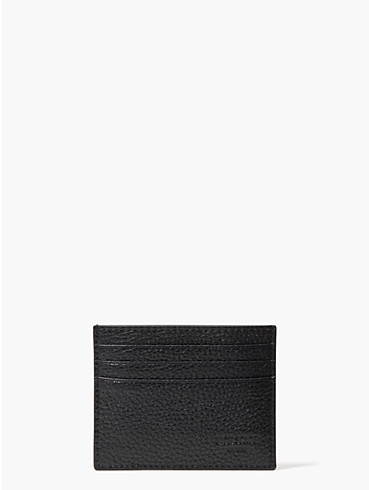 pebbled leather six card holder, , rr_productgrid