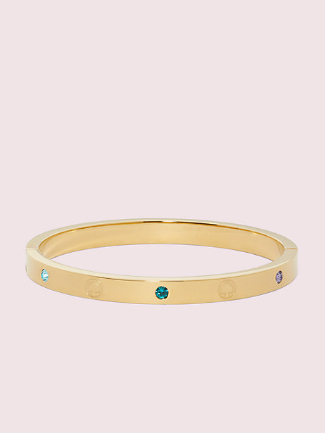 infinite spade engraved spade bangle by kate spade new york