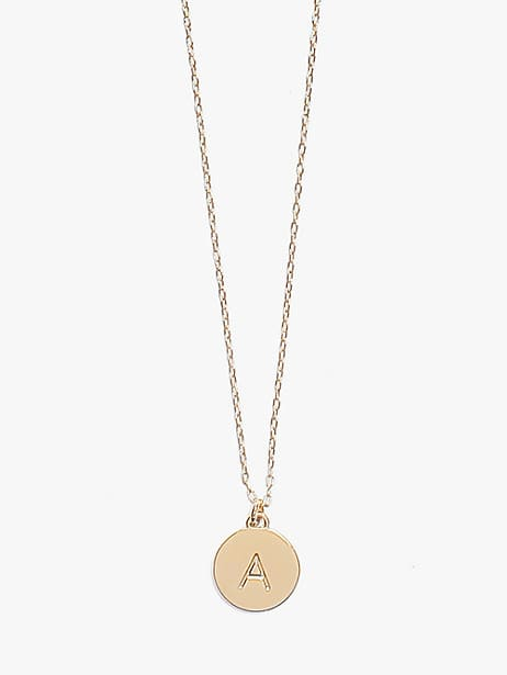 initial mini pendant by kate spade new york