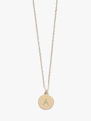 initial mini pendant by kate spade new york non-hover view