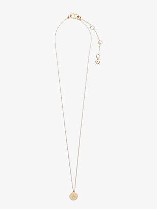 initial mini pendant by kate spade new york hover view