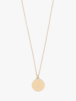 j mini pendant by kate spade new york non-hover view