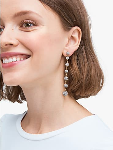house cat pavé linear earrings, , rr_productgrid